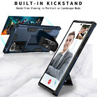 For Galaxy Note 10 9 8 S8 S9 S10 Plus S10e Case Magnetic Kickstand Ring Cover