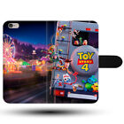 Toy Story 4 Outside Family Truck Disney Clasp Holder Fabric Phone Case Cover