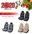 Car Seat Covers Cushion Water Proove Polyester Fabric Front/Rear SUV Truck $45.95 USD on eBay