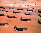 New Photo: Multiple F-15E Fighter Wing Aircraft During Desert Storm - 6 Sizes!