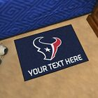 Houston Texans She Cave Woman Cave Rug NFL FANMATS Valentines Day $24.99 USD on eBay