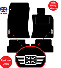Mini Cooper 2006 To 2013 R56 Tailored Car Mats Unique Logos & Hook/loop Fixing