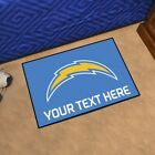 Los Angeles Chargers She Cave Woman Cave Rug NFL FANMATS $24.99 USD on eBay