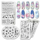 PICT You Nail Art Stamping Plates Valentine's Day Letter Nail Stamp Stencil Tool