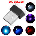 5*colors Mini Usb Led Wireless Lamp Car Atmosphere Light Colorful Accessories Uk