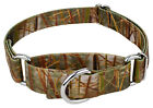 Country Brook Design® Waterfowl Camo Martingale Dog Collar