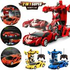 Remote Car Sport Transformer RC Robot Controller 2 IN 1 Kids Toy Toddler Gift US