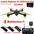 Hubsan H501S S Pro FPV Drone Quadcopter 5.8G 1080P Camera Brushless GPS+3Battery