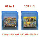 Kyпить Game Boy Color cartridge 61 in 1 (multi cart for GameBoy, GBC) or 108 games in 1 на еВаy.соm