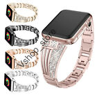 Lady Bling Bracelet iWatch Band Strap For AppIe Watch Series 5 4 3 2 40/44MM image