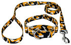 Country Brook Petz® Black and Gold Camo Martingale Dog Collar and Leash