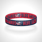 Reversible Columbus Blue Jackets Bracelet Wristband Out Of Our Blue. We Rise. $11.0 USD on eBay