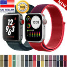 Woven Nylon Sport Loop for Apple Watch Series 5 4 3 2 1 38/40mm 42/44mm image
