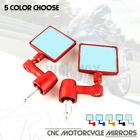 Square Handle Bar End Rearview Side Mirror For DUCATI 1299 1199 959 899 Panigale