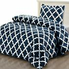 Utopia Bedding Printed Comforter Set (Twin/Twin XL, Navy) with 1 Pillow Sham - L image