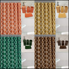 Kyпить Luxury Bathroom Combo 19 piece Set Ceramic Bath mats Shower Curtain Honeycomb на еВаy.соm