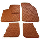 Fits Bentley Continental GT GTC  Floor Mats Saddle