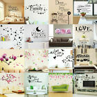 Vinyl Home Room Decor Art Quote Wall Decal Stickers Bedroom Removable Diy New