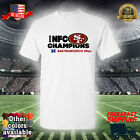 NFC Champions 2020 San Francisco 49ers NFL Shirt Unisex Men Women 001