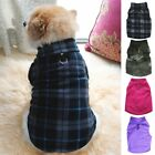 Pet Dogs Puppy Fleece Harness Clothes Sweater Coat Jacket Apparel Multicolored