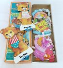 Kyпить Vintage Whitman Teddy Bears Paper Dolls Set Pre-Cut Clothes Box Complete 1979 на еВаy.соm