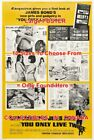"""YOU ONLY LIVE TWICE 1967 James Bond ESQUIRE = MOVIE POSTER 10 Sizes """"17 - 5 FEET $188.88 CAD on eBay"""