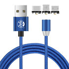UK New Fast Magnet Charging Cable Magnetic Charger IOS Lighting Type-C Micro USB