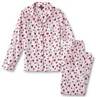 Flannel Pajamas Size Small,Medium,Large, XL Womens 100% Cotton Set Heart NEW NWT