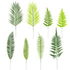 Artificial Fern Single Branch Plastic Green Leaves Fake Plant Home Garden Decor