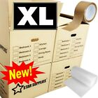 EXTRA LARGE MOVING BOXES Double Wall Cardboard Box NEW Removal Packing Shipping