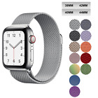 For Apple Watch Series 5 4 40mm 44mm Magnetic Milanese Loop Band Stainless Steel image