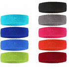 Women/men Cotton Sweat Sweatband Headband Yoga Gym Stretch Head Band For Sport