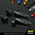 For Triumph Bonneville SE 03 04 05 06 07 6 COLOR 25mm Adjustable Rear Foot Pegs $42.8 USD on eBay