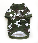 Dog Camo T-Shirt Green or Pink Size S M L Cute Comfortable Pet Clothes