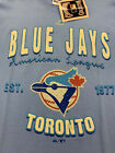 TORONTO BLUE JAYS MLB MAJESTIC COOPERSTOWN BARNEY TEE AUTHENTIC MEN'S SHIRT