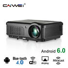 5000LUMEN Smart Android WIFI Projector Wireless Movie HDMI USB Backyard Football