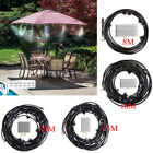 Water Mister Portable Cooling System Irrigation System Mist Sprayer Garden Patio