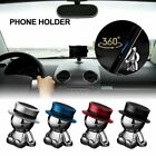 Universal Magnetic Car Mount Cell Phone Stand Holder 360 Degree Rotation Hat Man