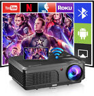 CAIWEI Smart WIFI Projector Blue-tooth Android Wireless Airplay Movie HDMI USB
