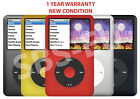 apple ipod classic 7th generation 512 256 160 120 80 gb black silver gold red