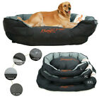 XX-Large Dog Bed Orthopedic Couch Pet Sofa w/ Removable Washable Cover & Cushion