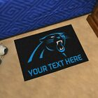 Carolina Panthers She Cave Woman Cave Rug NFL FANMATS $24.99 USD on eBay