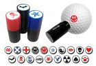 ASBRI GOLF BALL STAMPER, GOLF BALL MARKER ,35 DESIGNS, GREAT GOLF GIFT OR PRIZE