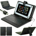 For Lenovo TAB 10 10inch TB-X103F Tablet 2016 USB Keyboard PU Leather Case Cover