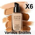 Avon True Flawless Liquid Foundation SPF15 - 30ml X6 Bottles (Various Shades)
