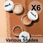 Avon Mark Loose Powder Mineral Foundation -was Calming effects Various Shades X6