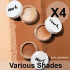 Avon Mark Loose Powder Mineral Foundation -was Calming effects Various Shades X4