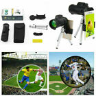 40X60 High Power Magnification Zoom HD Vision Monocular Telescope For Cellphone