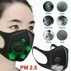 Kyпить Air Purifying Face Mask Mouth Cover Filter Washable Anti Fog Dust Valve je на еВаy.соm