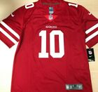 BRAND NEW Red 49ERS Jimmy Garoppolo Jersey #10 - MEN'S image